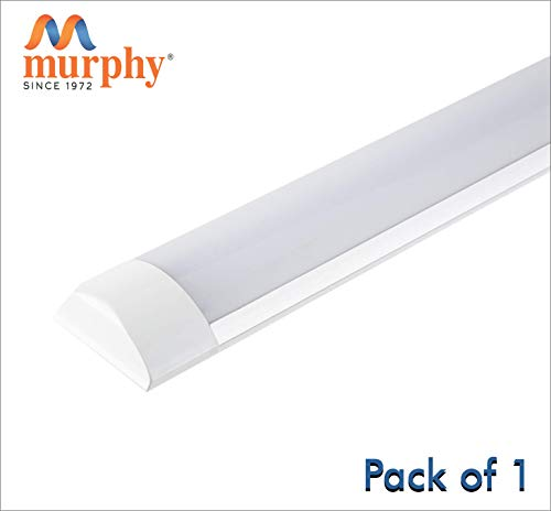 Murphy LED Flat Tube Light 1 Feet 10W -Cool White Batten Pack of 1 at amazon
