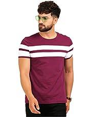 AELOMART Men's Regular Fit T-Shirt