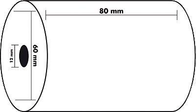 Exacompta 43804E - Bobina 1 pliegue térmico caja