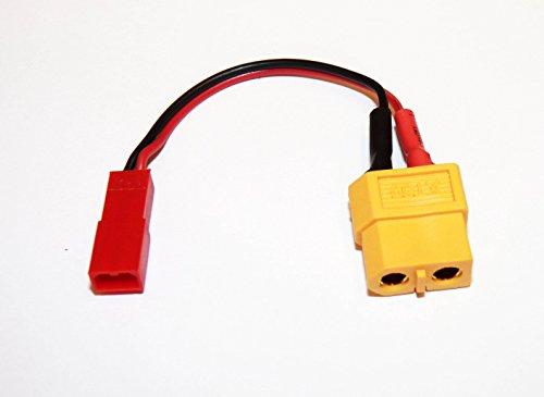 Preisvergleich Produktbild Adapterkabel XT60 Buchse auf JST Stecker