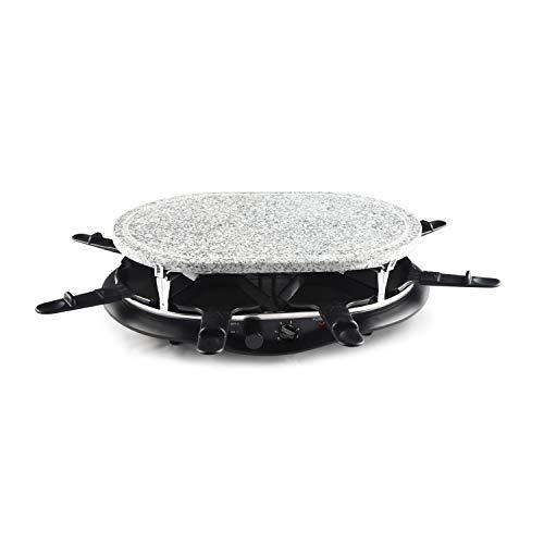 Raclette elettrica ovale, in pietra