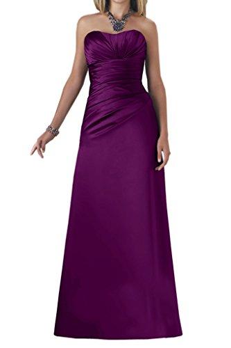 TOSKANA BRAUT -  Vestito  - linea ad a - Donna Violet - Violett2