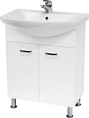 Mobile bagno lavabo basato Alpina Vanities Omega 65 Confezione da