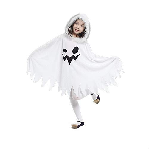 Kostüm Elasthan - Halloween Ghost Cosplay Kleid Cosplay Kostüm Requisiten Kinder Mädchen Karneval Festival/Urlaub Elasthan Weibliche Karneval Kostüme Vintage,S