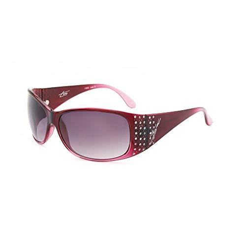 Bloc Eyewear TURIN GRAD CRANBERRY SUNGLASSES (SG12 GREY GRAD/CAT 3 LENS)