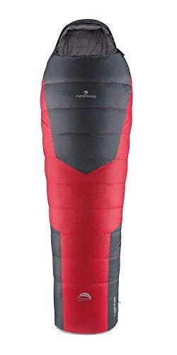 Ferrino, Lightec Duvet, Sacco a pelo Unisex, Rosso, 1000 g