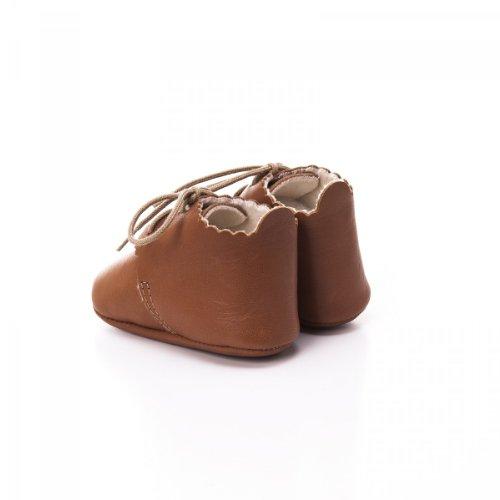 Toma , {Chaussures premiers pas pour bébé (garçon) marfil - marrón claro
