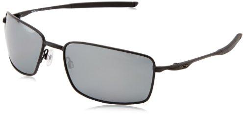 Oakley Herren Sonnenbrille Square Wire Schwarz (Negro Mate), 0