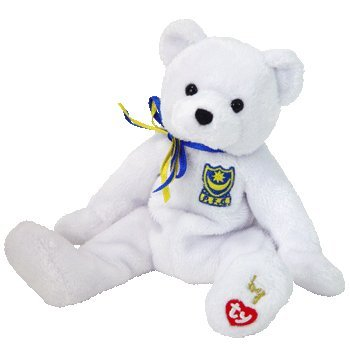 TY BEANIE BABY   P F C  THE BEAR (UK EXCLUSIVE) TOY