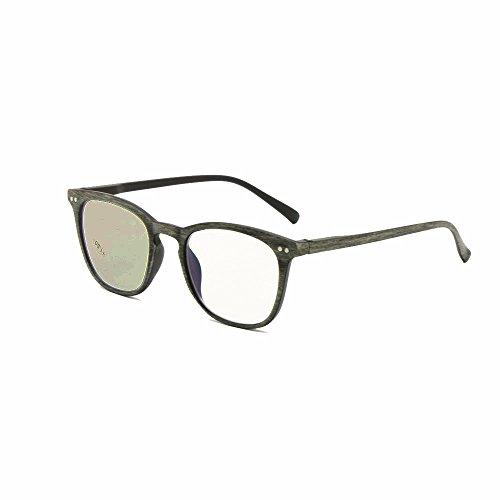Transizione fotocromatica progressiva multi focus lettura occhiali retrò nerd varifocale nessuna linea graduale + rx lungimirante uv400 occhiali da sole (+1.00, progressivo(grigio))