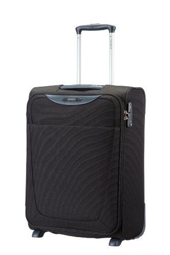 Samsonite Base Hits Upright 55/20 Bagaglio a mano, 55 cm, 39 L, Nero (Nero)