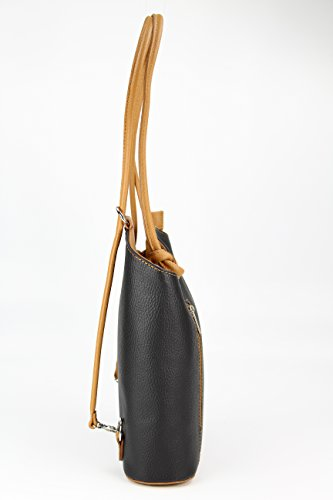 fdca258557d69 Ledertasche Belli Backpack 2in1 Damen Rucksack Leder Handtasche  Schultertasche - Freie Farbwahl - BELLI ital.