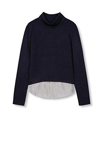 Esprit 126ee1j003, Sweat-Shirt Femme Bleu (NAVY 400)