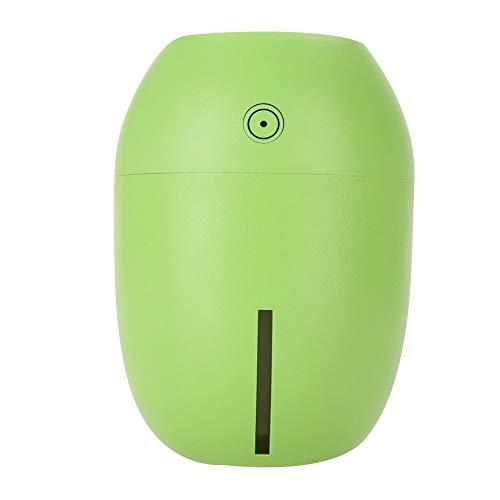 Facial Steamer Gesichtssauna, USB Zitrone Tragbarer Ultraschall Luftbefeuchter Cooler Nebelhersteller Desktop Auto Aroma Diffusor(Grün)