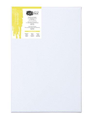 Artina Malkartons - beste Qualität - echtes Maltuch - 2-fach vorgrundiert - 100% Baumwolle - 50x70cm