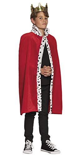 Boland 36100 Königsmantel Kind 80 cm, Unisex, - Prinz Fancy Dress Kostüm