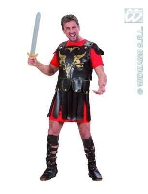 Costume Gladiatore Tg.XL Romano uomo adulto 7432G