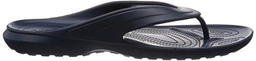 crocs Unisex-Erwachsene Classicflip Pantoffeln Blau (Navy)