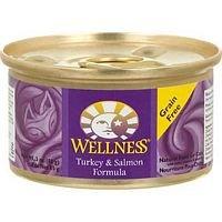 Wellness Türkei und Lachs Katzenfutter Formel 6cans-3oz je
