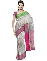 Uppada Handloom Cotton Saree (Pink)