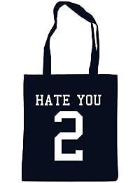 Hate You 2 Bolsa Negro