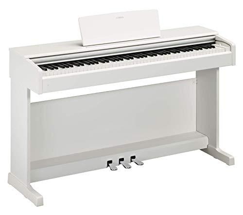 "Yamaha Arius Digital Piano YDP-144WH, weiß - Elektronisches Klavier mit Hammermechanik, Konzertflügel-Klang & USB-to-Host-Anschluss - Kompatibel mit kostenloser App \""Smart Pianist\"""