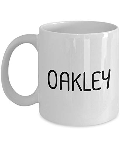 Unique Gift For Oakley 11oz White Coffee Mug - Person Name