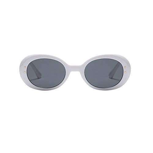 REALIKE Unisex Sonnenbrille Übergroße Gemütlich Oval Rahmen Transparent Brille High-Mode Funkelnd Oversized Sunglasses Super Coole Travel Eyewear (Farbe : Mehrfarbig) (Gold Reise Kostüm Star Wars)