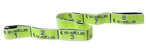 Sveltus Elastiband ORIGINAL 10 kg Gymnastikband Fitness Band Widerstand gelb