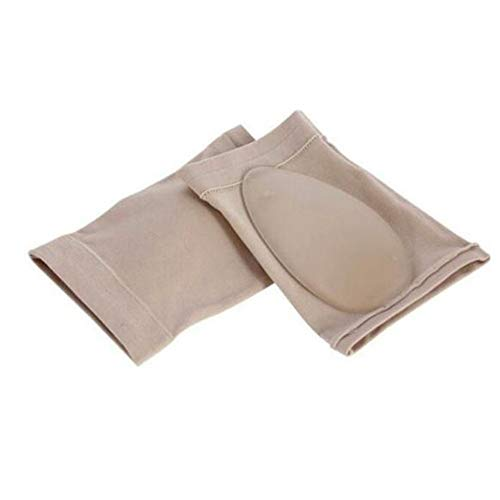Oyamihin 1 Paar Plattfü?e Orthesen Plantarfasziitis Arch Support Sleeve Cushion Pad Fersensporn Fu?pflege Einlegesohlen Fu?polster Orthesen Tool - Hautfarbe