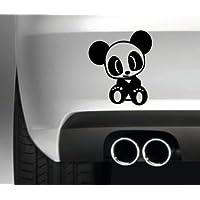 South Coast Stickers CUTE PANDA CAR BUMPER STICKER FUNNY BUMPER STICKER CAR VAN 4X4 WINDOW PAINTWORK DECAL GRAPHIC
