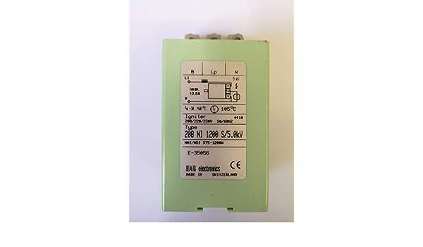 Ignitor Amorceur 208 NI 1200 S//5.0kV