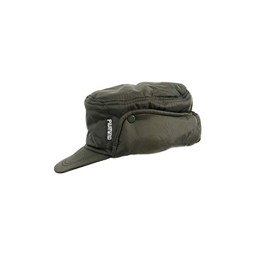 WORK AND STYLE Piumino - Gorra Nylon Orejeras by Verde