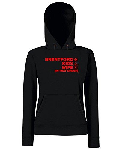 T-Shirtshock - Sweats a capuche Femme WC1122 brentford-kids-wife-order-tshirt design Noir