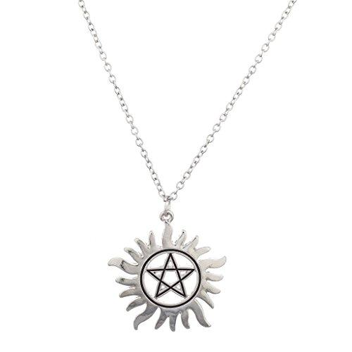 lux-accessori-silvertone-anti-possesso-pentagramma-a-forma-di-ciondolo