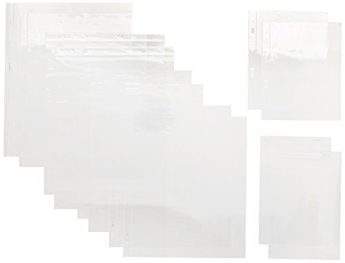 Papermania 12 x 12-inch Page Protectors Pack of 25 .