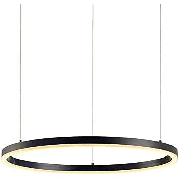 Lampade A Sospensione Per Ufficio Prezzi.Led Anello Dimmerabile Lampada A Sospensione Con Telecomando Sala