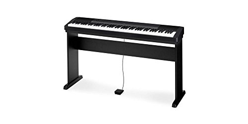 Casio CDP-130 - Piano digital con soporte (88 teclas, 48 notas, 5...