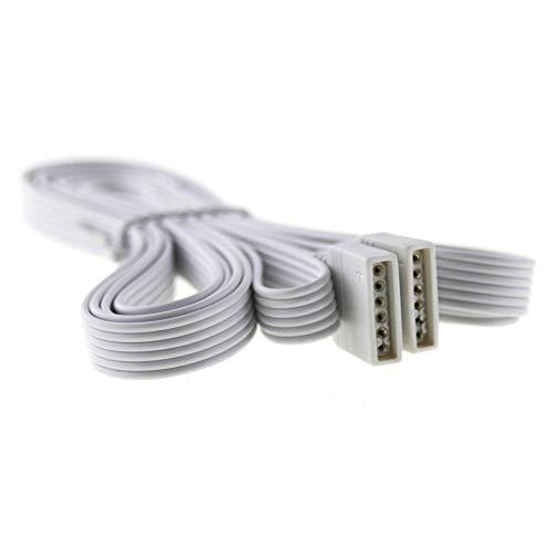 RGBW + CCT Verlängerung 2 Meter Plug & Play; Anschlusskabel für 6-polige (PIN) RGB+W CCT LED Streifen RGB + CCT - 6 Pin Verlängerung