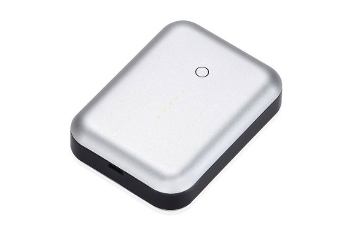 Just Mobile Gum++ Portable USB Power Pack 6000 mAh Silber Just Mobile Gum