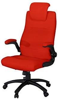 Miweba Büro- und Gamingstuhl Supreme aus Kunstleder mit Kopfstütze und hohen Armlehnen Bürostuhl Chefsessel Büro Gamingstuhl Schreibtischstuhl Drehstuhl Design Stuhl in vielen Farben (Rot)