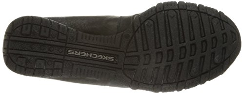 Skechers Relaxed Fit Bikers Pedestrian Women's Walking Shoes, Black (Blk), 4.5 F UK
