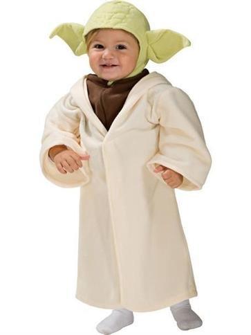 Yoda - Disfraz de niño pequeño