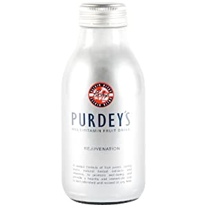 Purdey's Silver Active Life Fruit Drink 330 ml (Pack of 12)