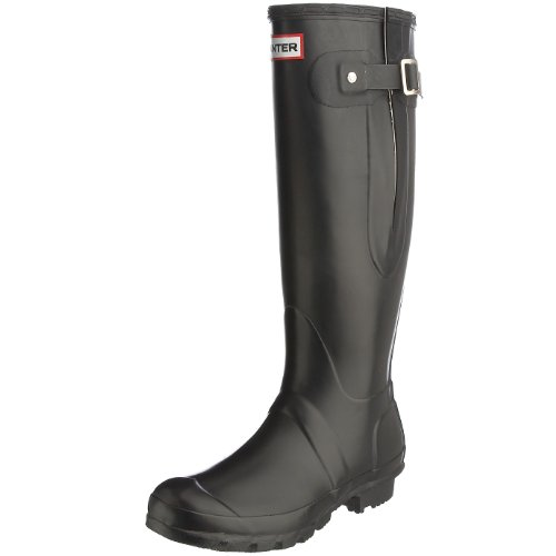 Hunter Original Adjustable Wellies, Boots mixte adulte Noir (Noir-V.6)