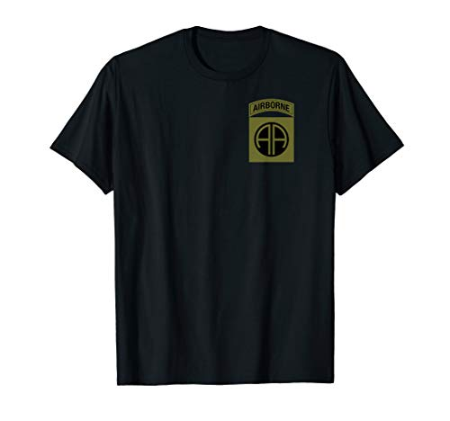 82nd Airborne Shirt - OCP Division Patch T-Shirt - 82nd Airborne Shirts