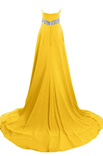 Sunvary elegante A-Line Abito in raso, per abiti da sera, da gravidanza Daffodil