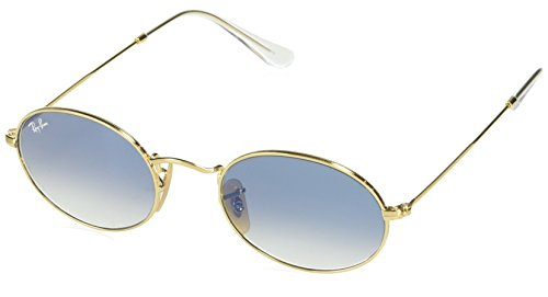 Ray-Ban Unisex-Erwachsene 0RB3547N 001/3F 51 Sonnenbrille, Arista/Crystalwhitegrad.Blue
