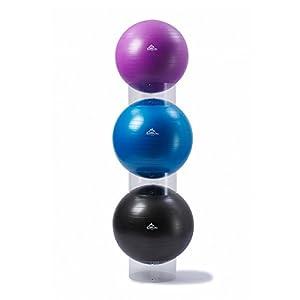 Schwarz Mountain Produkte BMP Übung Stabilität Ball Display Halter Set von 3