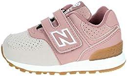 zapatillas new balance kl410 gris rosa infantil